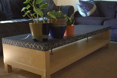 Chalkboard Coffee Table Makeover Monday Chalkboard Coffee Table Sweet Athena