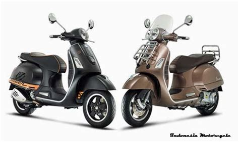 Rak Vespa vespa rilis 2 model spesial vespa gts indonesia motorcycle