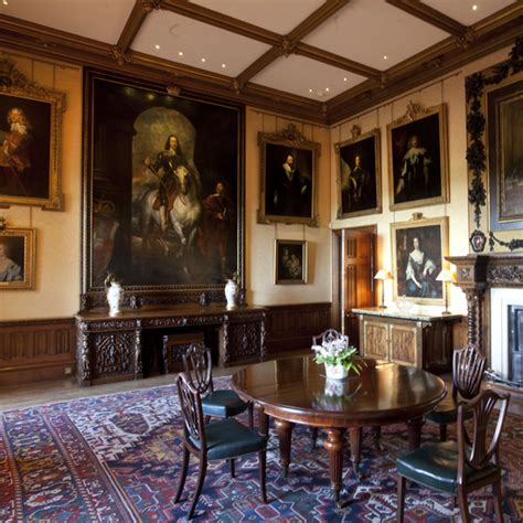 Highclere Castle Dining Room by Downton Highclere Castle Interiors Tour Ideal Home