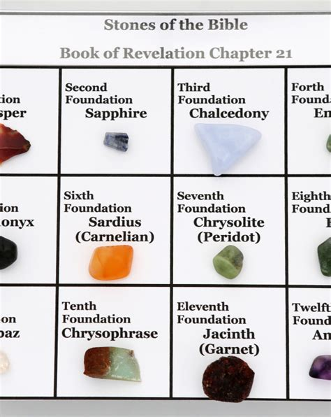 stones of the bible boxed set book of revelation chapter