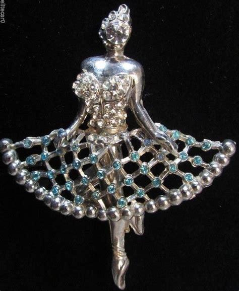Ballet Rhinestone Brooch 17 best ideas about vintage ballerina on