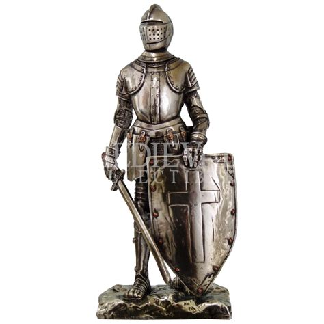 Western Home Decore by Triumphant Medieval Knight Statue Cc8718 From Dark