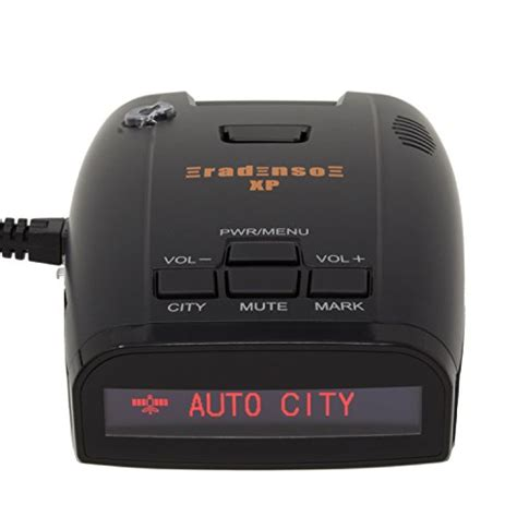 radar detector with light radenso xp radar laser detector with gps lockout and