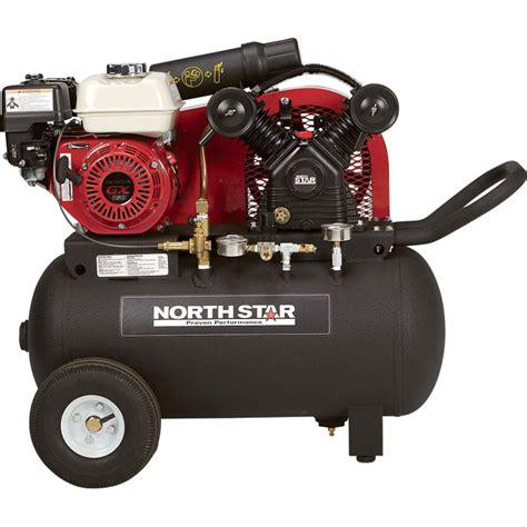 shipping northstar portable gas powered air