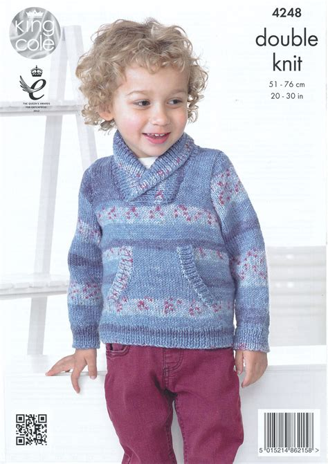 knitting pattern sweater boy king cole splash dk double knitting pattern childrens boys