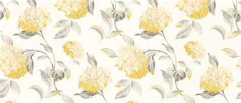 large flower wallpaper uk hydrangea camomile floral wallpaper laura ashley