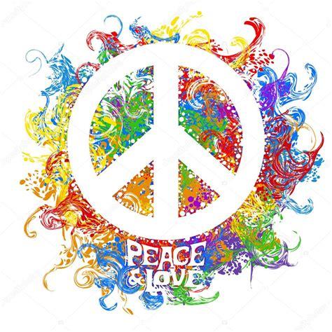 imagenes de simbolos hippies retro hippie symbol stock vector 169 yulianas 94069538