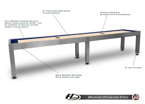 14 foot hudson metro shuffleboard table