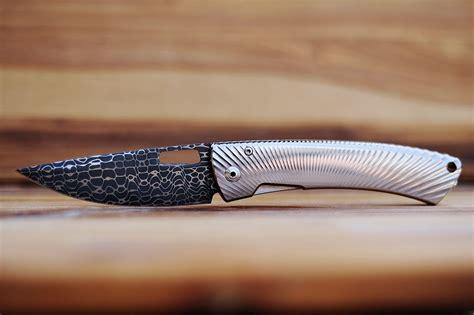 knife pattern reddit lionsteel tispine damascus lizard pattern knifeclub