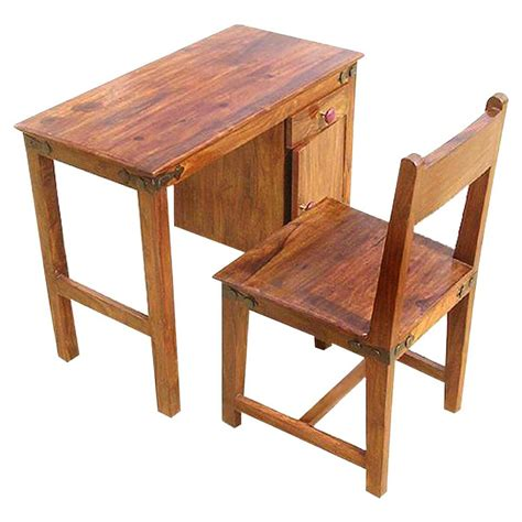 study chair and table for solid wood student writing study table desk with chair set