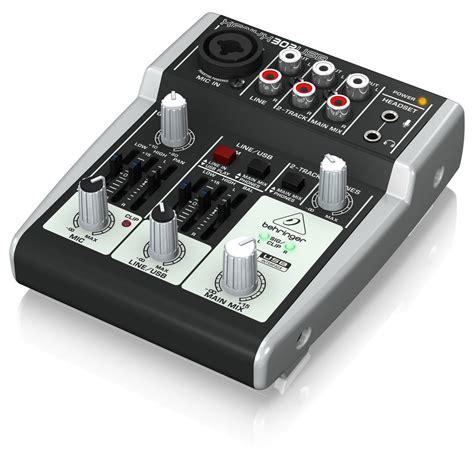 Mixer Xenyx 302 behringer xenyx 302 mezclador e interfaz de audio usb en