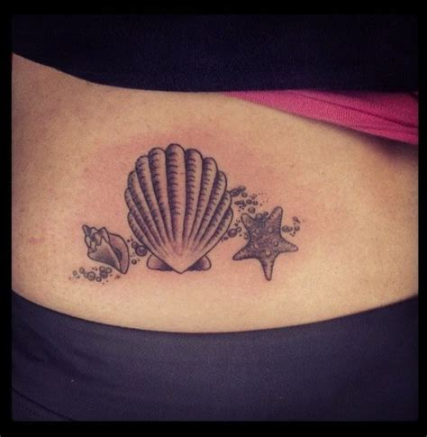 seashell tattoo meaning shell tattoos seashell would like this on my leg
