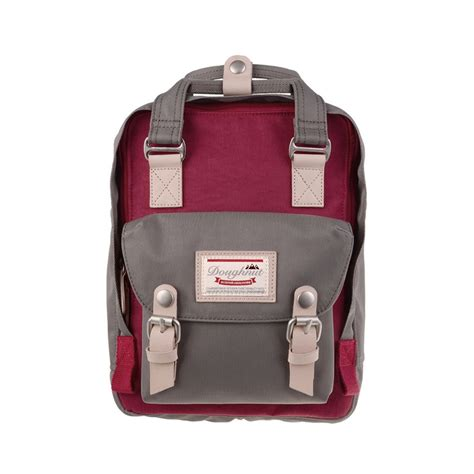 Tas Backpack Mini Finch Series Black Original doughnut macaroon mini wine grey www thebagstreet