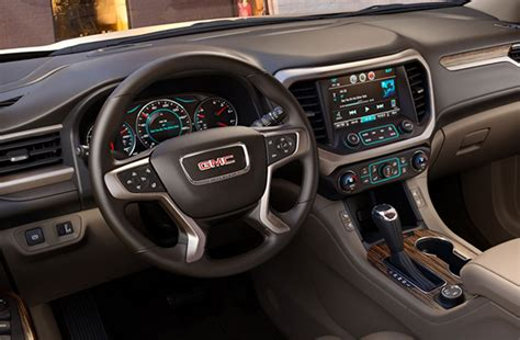 Gmc Acadia 2020 Interior by 2020 Gmc Acadia Slt Changes Release Date Interior