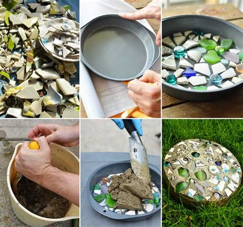 stepping craft for 23 diy stepping stones to brighten any garden walk diy