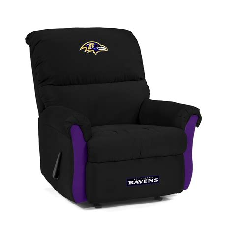 ravens recliner baltimore ravens mvp recliner chair from imperial