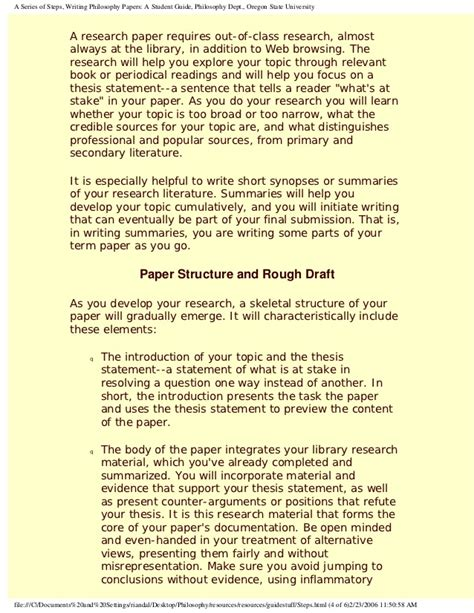 how to write a philosophy paper how to write philosophical papers