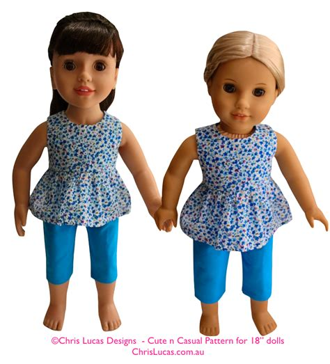 design a boutique doll size cute n casual designed to fit 18 quot dolls chris lucas