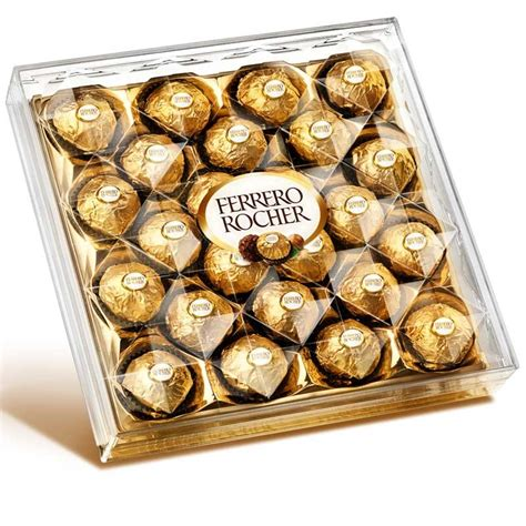 F Rocher 2 In 1 Cardi ferrero rocher chocolates pack of 24 gifts for the foodie 101026
