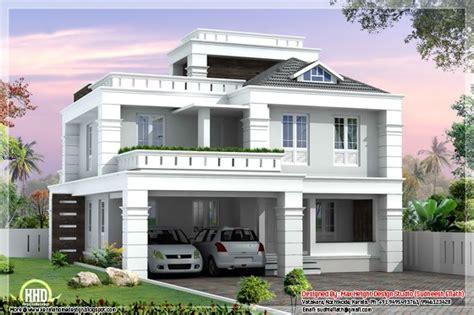 Cheap 4 Bedroom House Plans 4 bedroom modern home design 2550 sq ft
