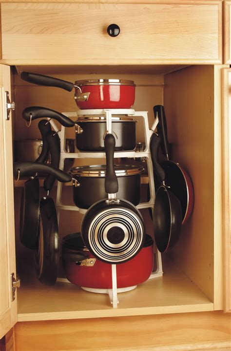 kitchen storage cabinets for pots and pans pots and pans organizer ideas home design ideas