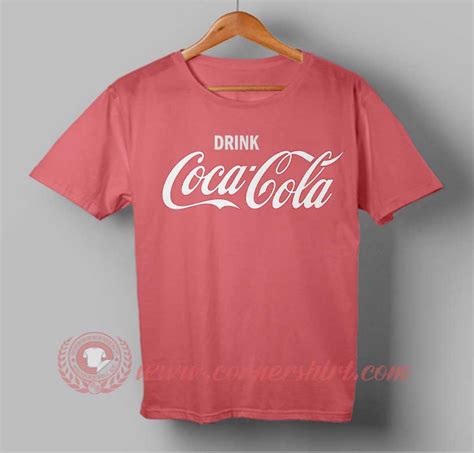 Tshirt Drink drink coca cola t shirt cornershirt