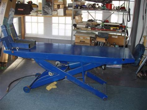 motorcycle 1000 pound lift table for sale in salem new