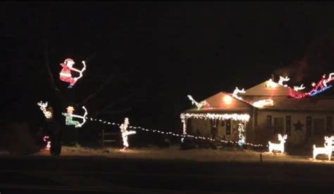 fresno and reindeer and christmas lights and hunter ohio bowhunter builds themed spectacle outdoorhub