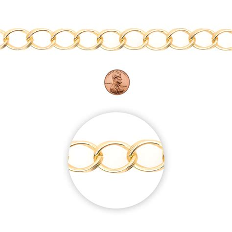blue moon chain blue moon chain oval link textured light gold at