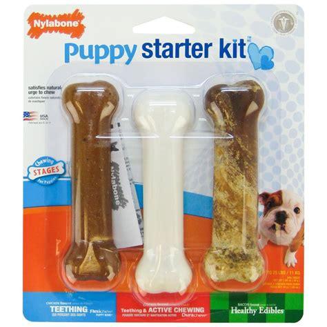 chew bones for puppies nylabone puppy chew nylabone puppy starter kit chew bones