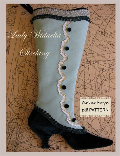 pdf pattern for christmas stocking victorian christmas stocking pdf pattern lady widaelia
