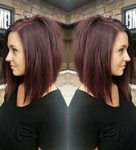 black hair color with a line cut 2015 inverted long bob styles bob hairstyles 2015 short