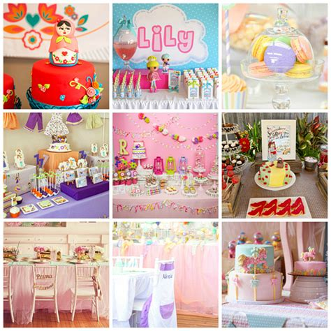 themes for little girl parties birthday party ideas for girls