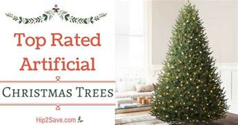 top rated artificial christmas trees hip2save