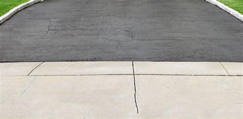 asphalt and concrete driveway aprons repair or replacement
