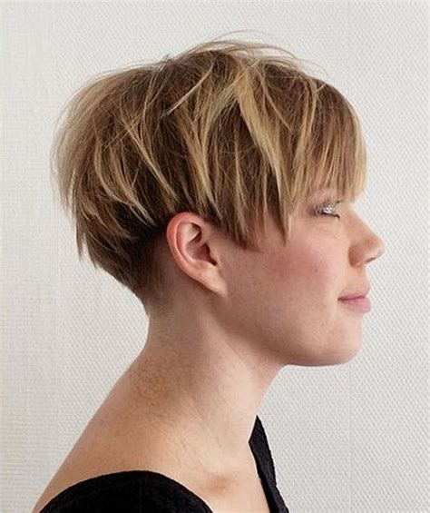 short pixie hair style with wedge in back 15 short wedge hairstyles for fine hair hairstyle for women