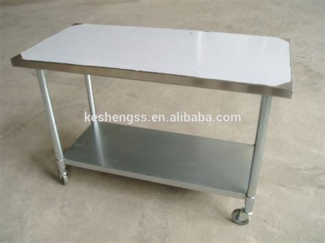 stainless steel work table with wheels stainless steel work table with wheels buy stainless
