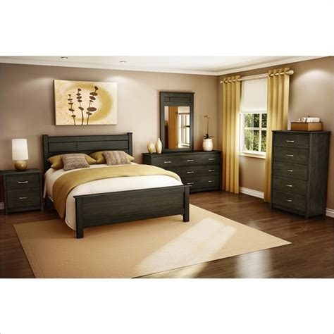 new york bedroom furniture vend 244 me 4 pc bedroom set in ebony contemporary bedroom