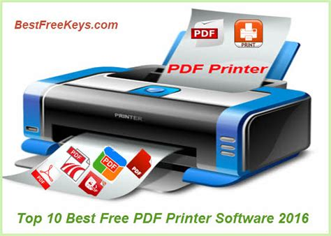 pdf printer best top 10 best free pdf printer software 2016 to print pdf