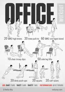 Office Chair Workout 25 Best Ideas About Office Workouts On