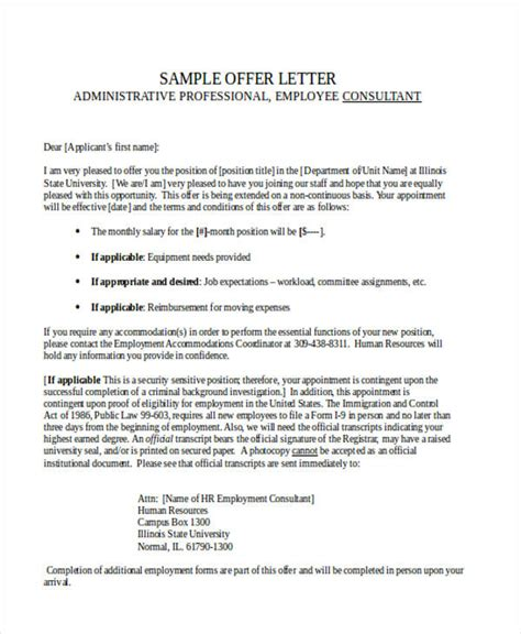 appointment letter consultant 100 appointment letter consultant confirmation of