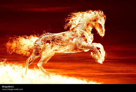 peartreedesigns  desktop fire horse eddition hd