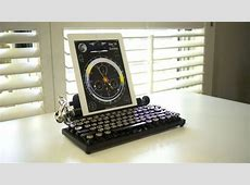 The Qwerkywriter is an old school typewriter for your iPad ... Mac's