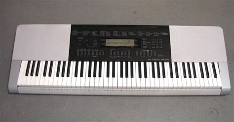 Keyboard Casio Wk 220 casio wk 220 white electronic keyboard piano organ ebay