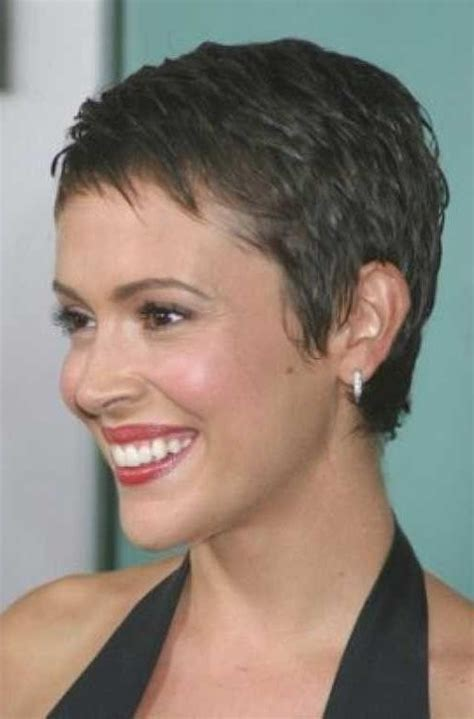 15 best of short hairstyles for round faces with double chin 15 collection of super short hairstyles for round faces