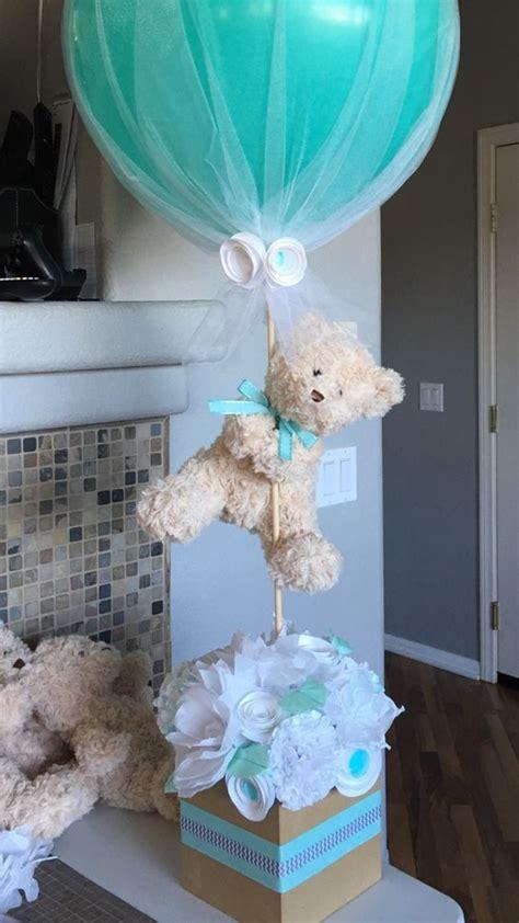 Centro De Mesa Decoracion Baby Shower Bautizo Cumplea 241 Os Bs 10 500 00 En Mercado Libre by Centro De Mesa Para Baby Shower Hecho De Flores De Papel Y Globo De 24 Pulgadas