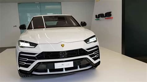 lamborghini urus white white lamborghini urus with red interior is apparently for