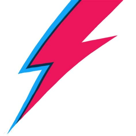 david bowie lightning bolt tattoo bowie lightning bolt paint print by rexlambo