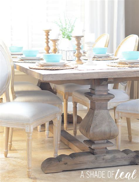 Rustic Modern Dining Room Tables Modern Rustic Dining Table Update With Home
