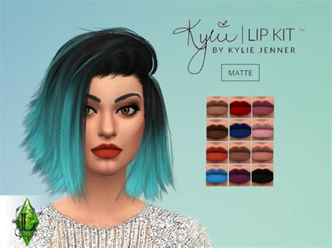 kylie sims 4 lip kit kylie matte lip kits by lary at tsr 187 sims 4 updates